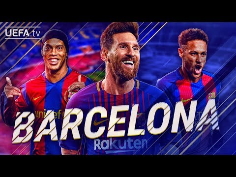 FC Barcelona | GREATEST European Goals & Highlights | Messi, Ronaldinho, Neymar | BackTrack