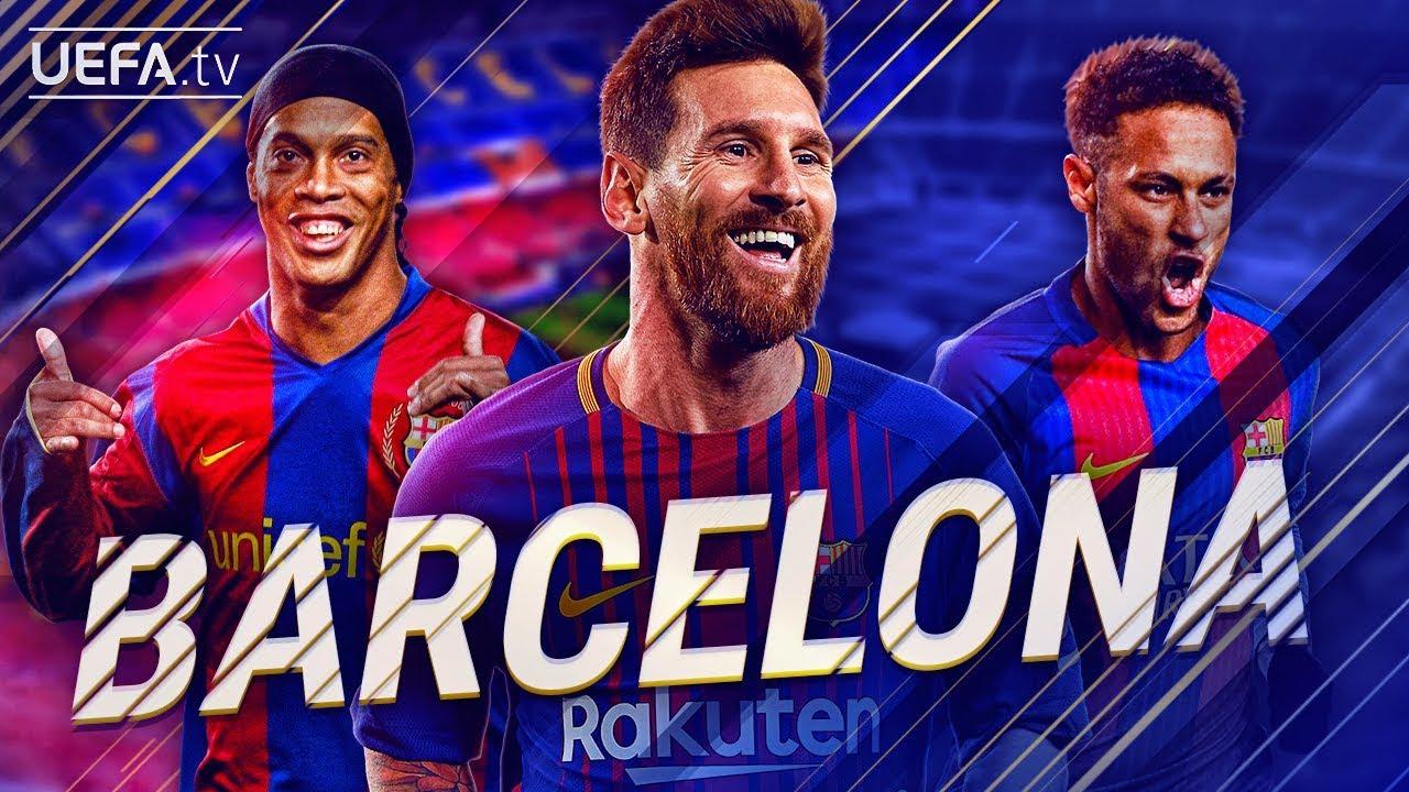 fc barcelona greatest european goals highlights messi ronaldinho neymar backtrack youtube youtube