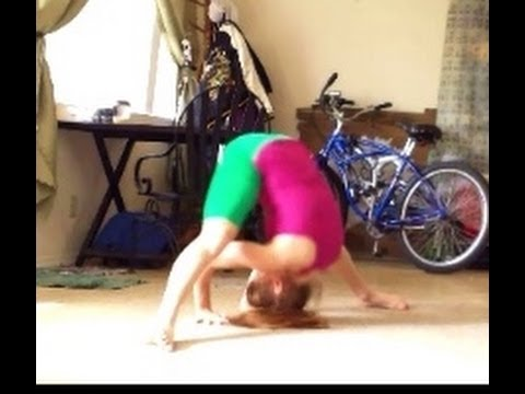 how to do straddle forward rolls and straddle press