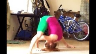 How To Do Straddle Forward Rolls And Straddle Press Handstand Rolls With Coach Meggin!