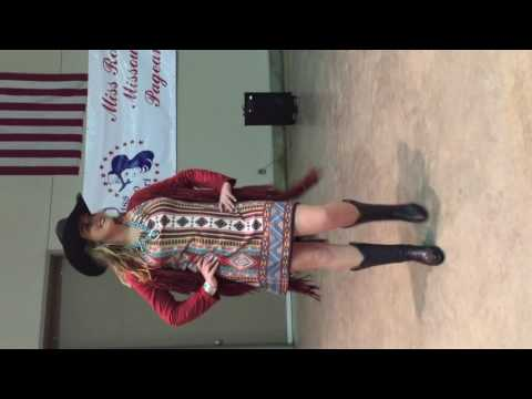 2016 Miss Rodeo Missouri Pageant, Fashion Show - Set 2