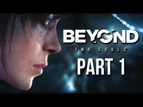 Beyond Two Souls Part 1 Gameplay Walkthrough - Intro Experiment & Embassy