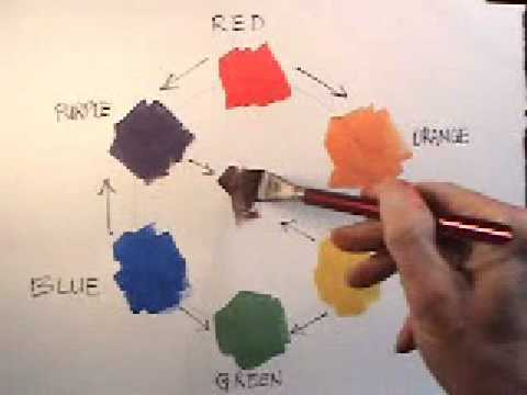 how to mix colors in watercolor youtube