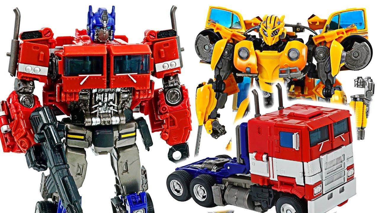 Transformers Bumblebee Movie Optimus Prime Go Dudupoptoy Youtube