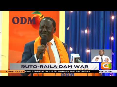 Ruto, Raila engage in war of words