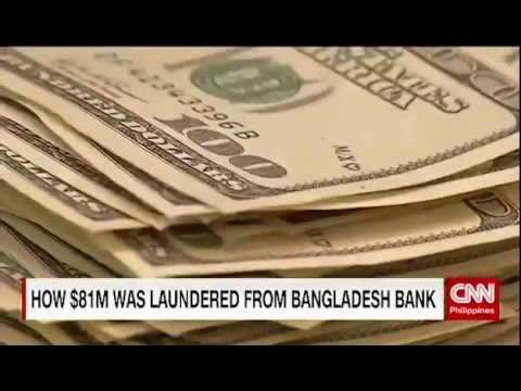 How $81M was laundered from Bangladesh Bank