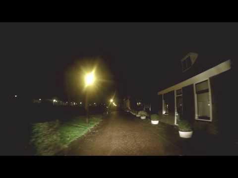 Amsterdam noord.  Buiksloterdijk at night ( helemaal)  31-12-2015.