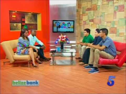 Belize delegation discuss the World Festival of Youth and Students 2017.