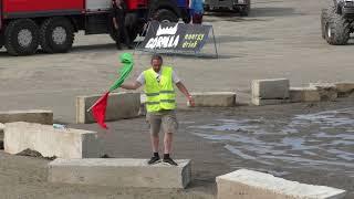 Танец судьи на автобоях #derbyminsk18 (Минск, 02.06.2018)
