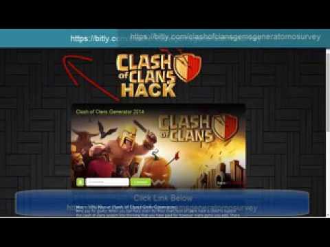 Clash Of Clans Gems Generator No Survey