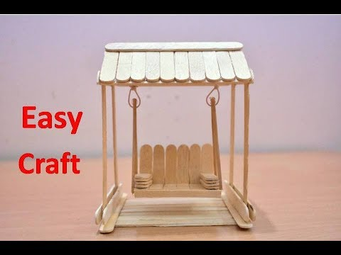 Art and Craft Ideas | How to Make Popsicle Stick or IceCream