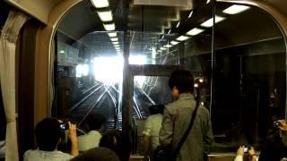 近鉄臨時列車 わくわくミステリー列車楽 生駒駅折り返し (H24.6.10)