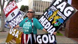 GOD HATES CONDOMS: TROLLING THE WESTBORO BAPTIST CHURCH!(Full length behind the scenes trolling the Westboro Baptist Church. Trimmed BTS: ORIGINAL VIDEO: https://www.youtube.com/watch?v=mUw47qiG6Ic Brick ..., 2015-03-12T00:13:00.000Z)