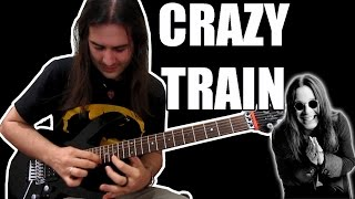 Ozzy Osbourne - Crazy Train (Solo Cover)
