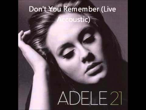 Adele 21 Live Accoustic Songs