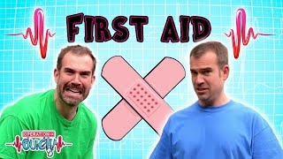 Science for kids - First Aid Training | Body Parts | Experiments for kids | Operation Ouch