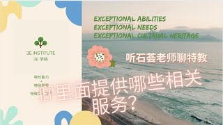 10 IEP里面会提供哪些相关服务?