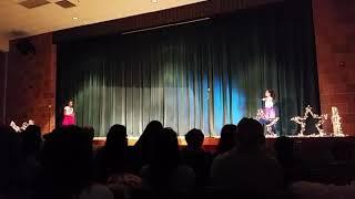 Talent Show Waldon Middle School. Dancing.