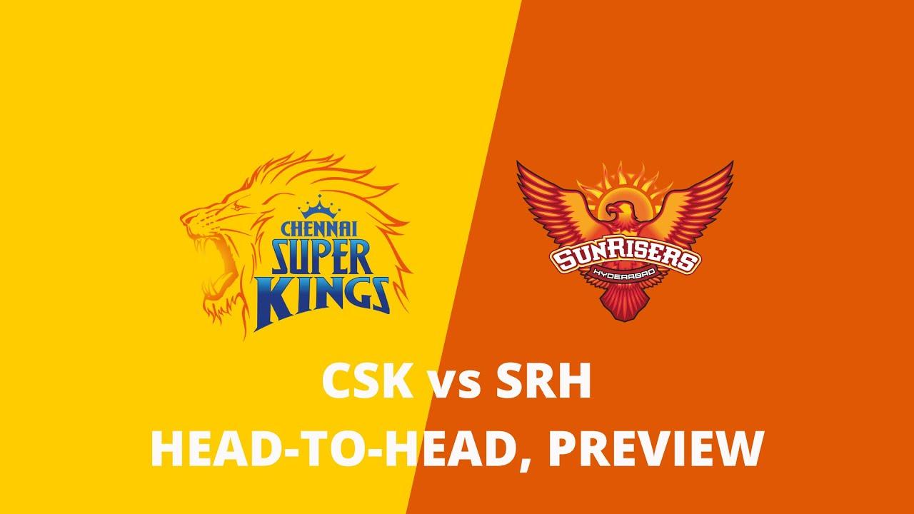 Chennai Super Kings Vs Sunrisers Hyderabad Head To Head Record Statistics Preview Csk Vs Srh Youtube