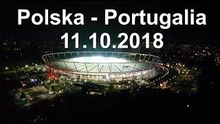 11.10.2018, Stadion Śląski. Liga Narodów. Polska - Portugalia 2:3 Hymn Polski