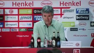 Fortuna Düsseldorf vs. VfB Stuttgart 3:0 | F95-Pressekonferenz | Cheftrainer Funkel nach #F95VfB