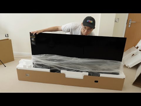 Panasonic GZ950 OLED TV Unboxing + Picture Settings