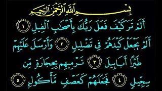 Surah Alam Tara Kaifa | Surah Quraish