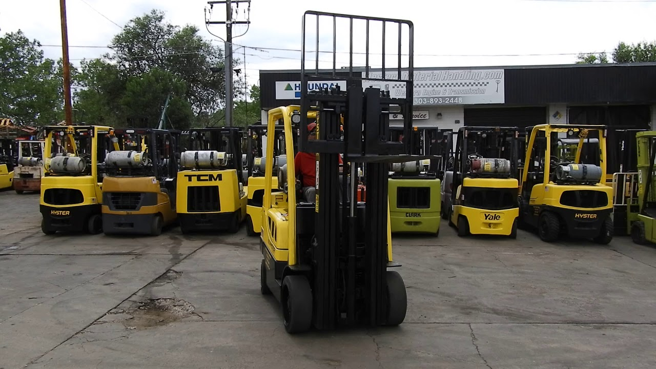 #D21044 Awesome running 2013 Hyster S60FT 6k Cushion tire forklift
