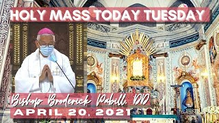 Holy Mass with Bishop Broderick Pabillo - April 20, 2021 Tuesday of the Third Week of Easter