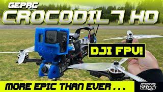BEST LONG RANGE FPV QUAD - Geprc Crocodil 7 HD with DJI Caddx Vista - REVIEW, & EPIC FLIGHTS! 🏆