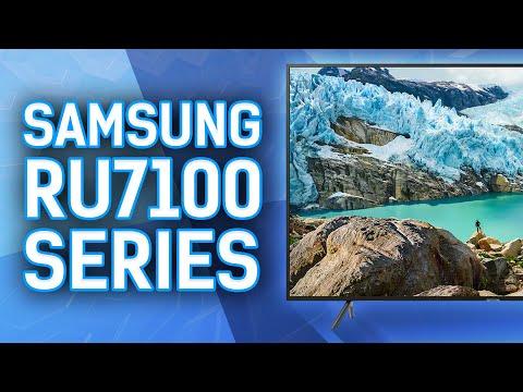 Reviewing The Samsung RU7100 4k TV Series - UN65RU7100