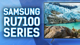 Reviewing The Samsung RU7100 4k TV Series - UN65RU7100