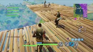 Fortnite top 1?? avec 0 kill? Base GÉANTE DANS LE CIEL RECORD DU MONDE WORLD  RECORD ??