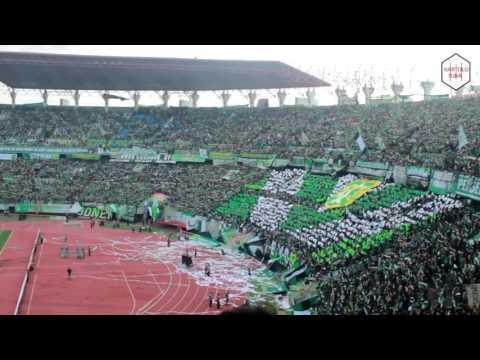 Merinding BONEK Serentak nyanyi lagu Indonesia Raya GBT Bergetar