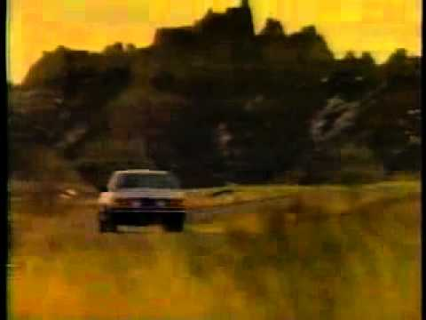 "Advert BMW 735i 1985 ""The Ultimate Driving Machine"""