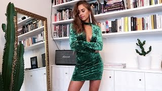 CHRISTMAS PARTY TRY ON HAUL - KENZA ZOUITEN (collaboration with Ivyrevel)