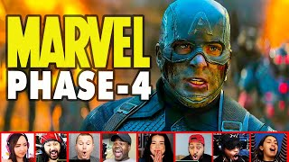 Reaction To Marvel Studios Celebrates The Movies / EPIC Marvel Phase 4 Showcase | Mixed Reactions