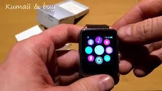умные часы Smart Watch GT88  Лучшая копия Apple Watch