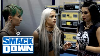 Liv Morgan isn't in the mood for Billie Kay & Ruby Riott arguing: SmackDown Exclusive, Jan. 15, 2021