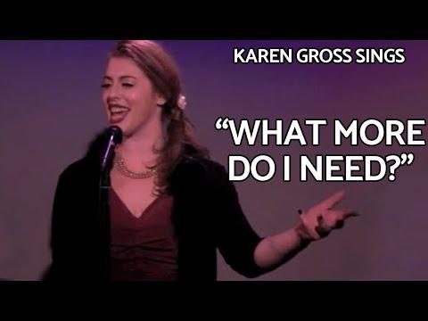 Cabaret singer Karen Gross at The Metropolitan Room NYC