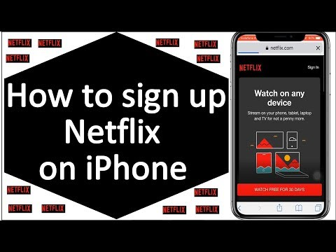 How to make a netflix profile on iphone