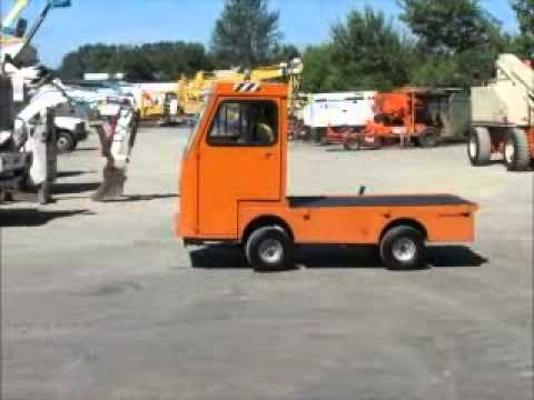 Sold! Taylor Dunn B248 36V Enclosed Utility Cart Truck