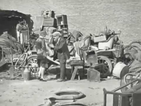 The Collegians In Running Wild - 1920s Silent Comedy - CharlieDeanArchives / Archival Footage