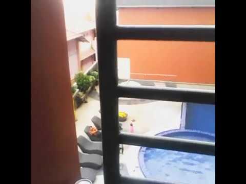 swimming pool view @Hotel Merapi Merbabu Bekasi