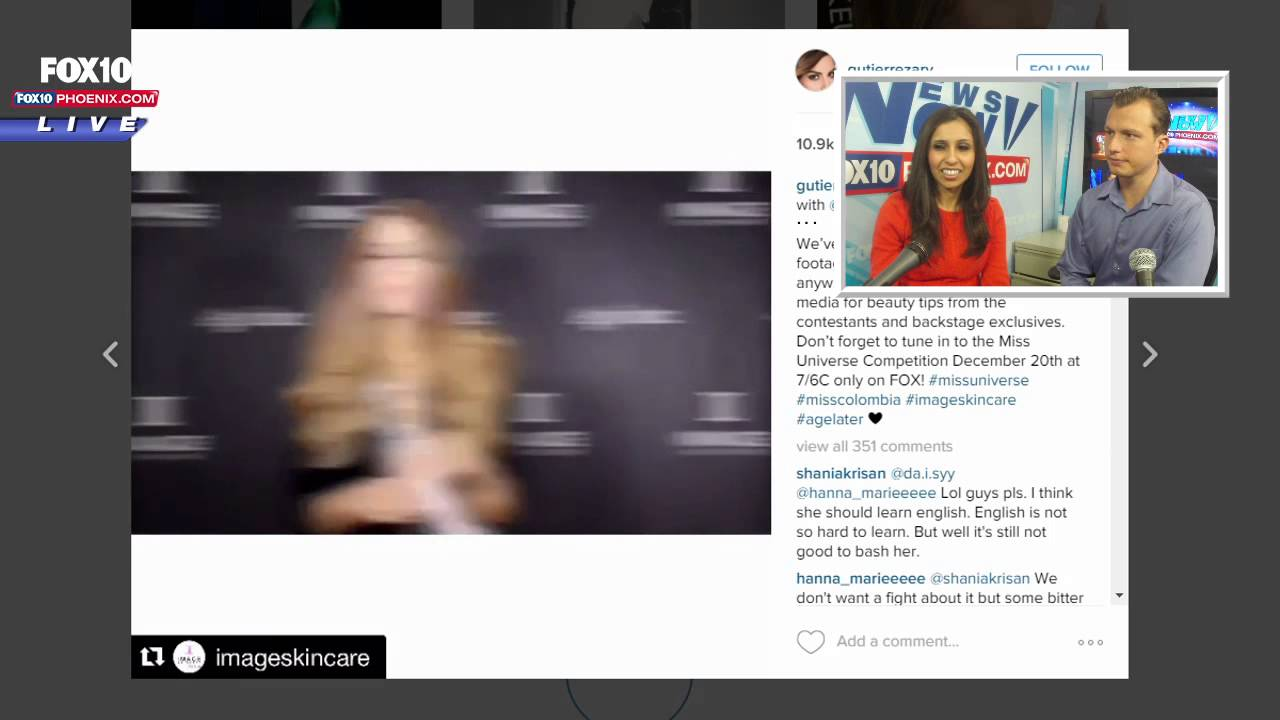 FNN: Miss Colombia's Controversial Instagram Post After ...