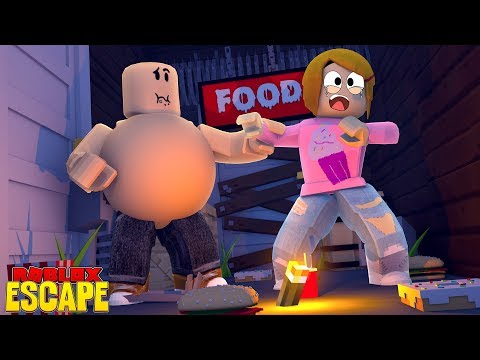 Roblox Escape The Giant Fat Guy With Molly