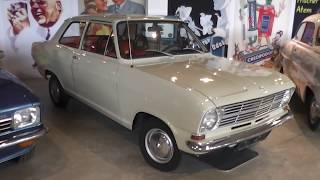 Opel Kadett B - Old german car 1965 to 1973