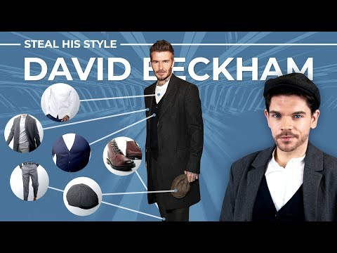 David Beckham | Peaky Blinders Inspired | Steal His Style