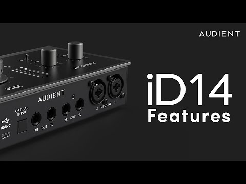 Audient iD14 MkII Feature Overview