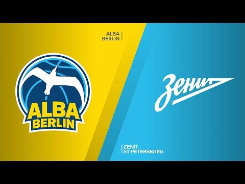 ALBA Berlin - Zenit St Petersburg Highlights | EuroLeague, RS Round 10